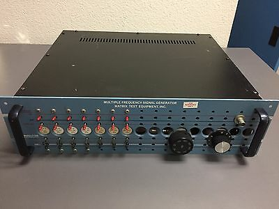 Matrix Multiple Frequency Signal Generator