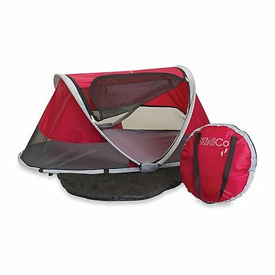 KidCo PeaPod Infant Baby Portable Travel Bed in Cranberry
