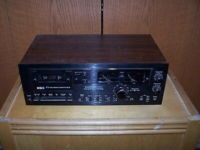 BIC Two Speed Cassette Deck
