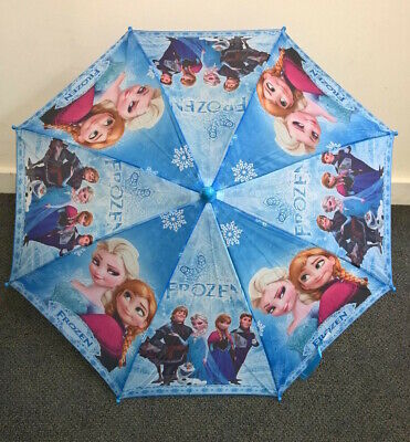 Frozen Umbrella with Whistle Boys and Girls Kids Umbrella Kids Gift - Blue