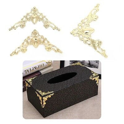 30Pcs Metal Angle Corner Bracket Notebook Cover Photo Frame Decorative Protector