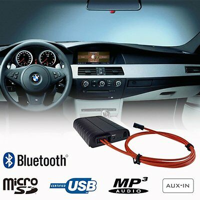 Bluetooth A2DP USB SD AUX Adapter BMW Professional iDrive M-ASK CCC MOST Car Kit