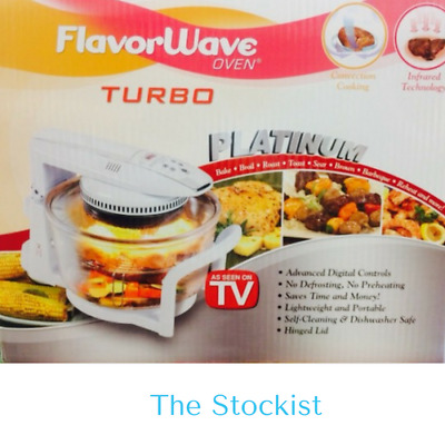 FLavorWave PLATINUM TURBO OVEN - AS SEEN ON TV