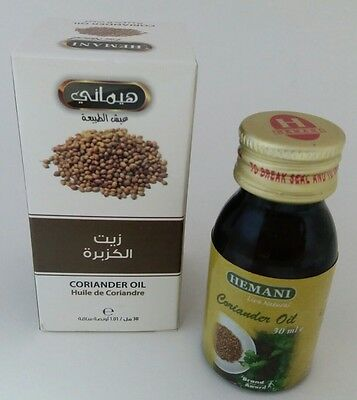 2.5 $ Black Friday Deal ! Hemani Coriander 30mlOil Halal 100%Natral زيت الكـزبرة