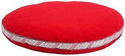 Cussion Pad For Tibetan Singing Bowls 30Cm Hand Drum Percussion Accessories Red