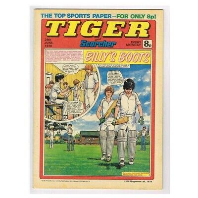 Tiger and Scorcher Comic  June 24 1978 MBox2640 Billy's Boots