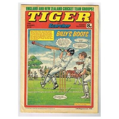Tiger and Scorcher Comic August 19 1978 MBox2640 Billy's Boot