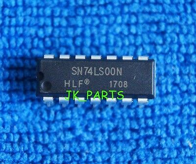 10pcs SN74LS00N 74LS00N 74LS00 DIP-14 IC NEW Quadruple 2-Input NAND Gates