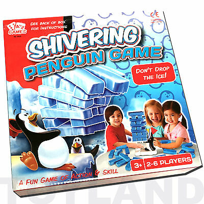 Shivering Penguin Childrens Balance Block Board Game Toy Gift Christmas Present