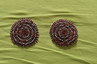 1088 Pair - Beaded Hair Ornaments for Child