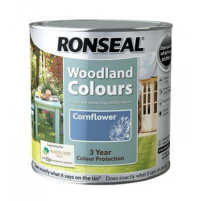 Ronseal Woodland Colours 750ml - All colours