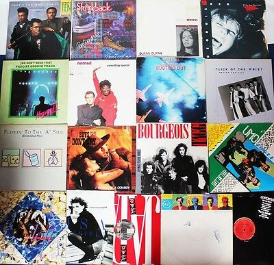 "* 36 Maxi-Singles 12"" Pop Disco 80er 90er: Duran Duran Level 42 Nomad Umo ... *"