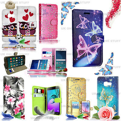 For VARIOUS SAMSUNG GALAXY J3 2016 Phones -Wallet Leather Case Flip Stand Cover