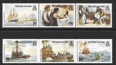 Pitcairn Islands Sg341/6 1989 Pitcairn Islands Settlements Mnh