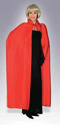 """56"""" Red Adult Costume Cape"""
