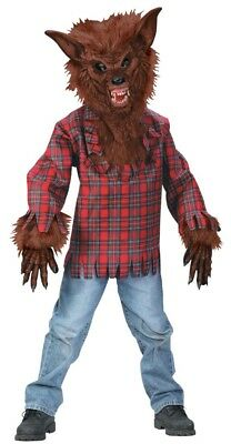Werewolf Costume Child: Brown