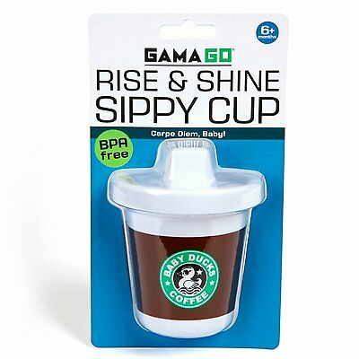 Rise And Shine Toddler BPA Free Sippy Cup