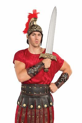 Roman Gladiator Costume Arm Guards Adult One Size Fits Most