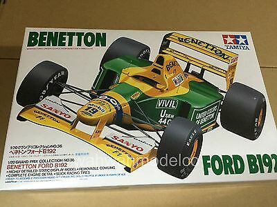 TAMIYA 1/20 #20036 BENETTON FORD B192 (decal yellowed)