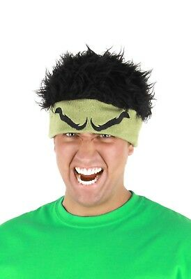 The Avengers Incredible Hulk Costume Knit Beanie Hat One Size