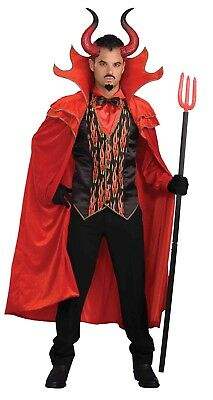 Black And Red Large Costume Devil Horns One Size
