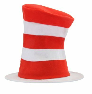 Dr. Seuss Cat In The Hat Costume Hat Child One Size
