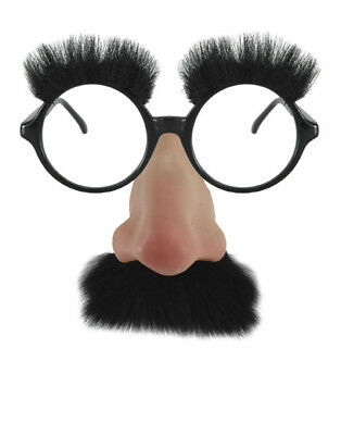 Groucho Marx Adult Funny Costume Glasses