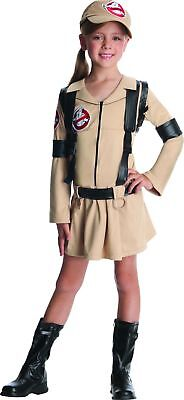 Ghostbusters Girl Costume Dress Child Small 4-6