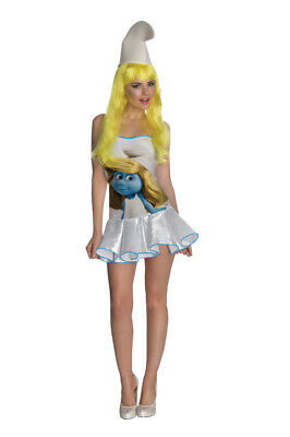 The Smurfs Classic Smurfette Costume Wig Adult One Size