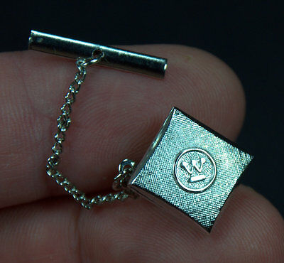 VINTAGE 1960's Westinghouse Silvertone 10-Year Service Tie Tack / Pin