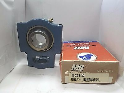TC-25-1-1/2, NIB MB Manufacturing Precision Mounted Bearing, Take-up Unit