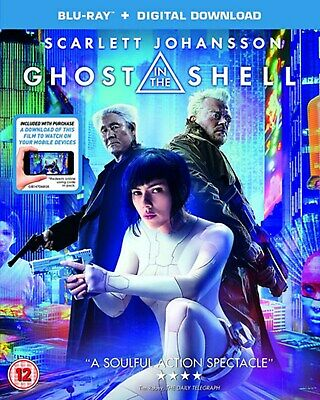 Ghost in the Shell (with Digital Download) [Blu-ray]