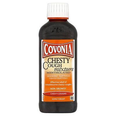 Covonia 150ml Dry Tickly & Chesty Cough Mixture, Buttercup Original 75ml Syrups