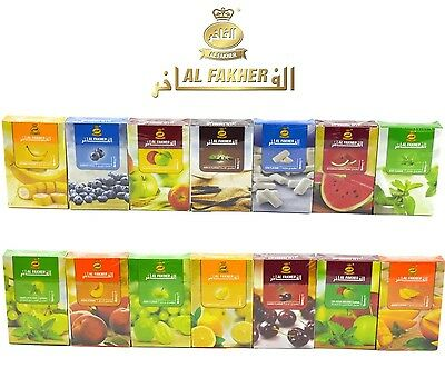 50g  AL FAKHER Shisha Hookah Flavour Herbal Molasses Sheesha AlFakher Flavor  UK