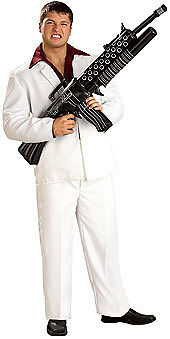 Scarface Inflatable Weapon Costume Prop