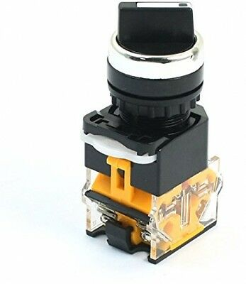 380V 10A NO NC DPST 2 Position Latching Rotary Selector Power Switch