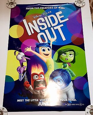 Pixar's Inside Out (2015) Movie Poster 1-Sheet Double Printed 27x40