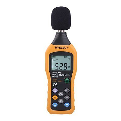HYELEC MS6708 Sound Level Meter sound decibel level digital meter Tester 30 N3M3