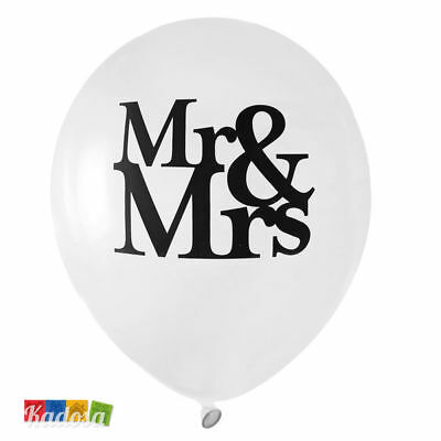 8 Palloncini Mr & Mrs - Wedding Matrimonio decorazioni balloon Sposi