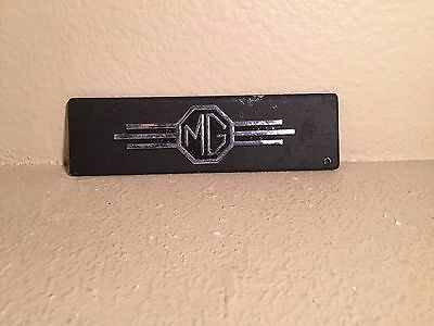 MG MGA MGB radio delete face plate original