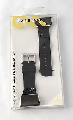 Case-Mate  Facets Smartwatch Glitter Band Apple Watch 38mm Black CM032783 1056GA
