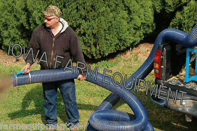 "6"" x 30' Replacement Hose for Harper Goossen Straw Blowers"