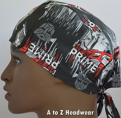 Transformers Optimus Prime Roll Out Unisex Surgical Scrub Hat Chemo Cap