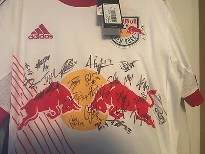 New York Red Bulls Signed Jersey donated for a fund rasier by goalie Ryan Meara