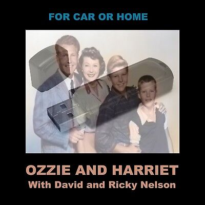 Enjoy Ozzie & Harriet In Your Car Or Home. 84 Old Time Radio Comedy Shows!