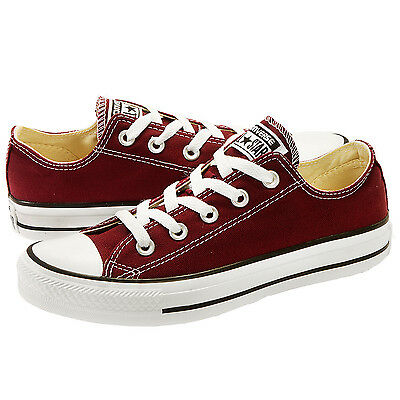 Converse All Star Chuck Taylor OX 139794F Burgundy Women Shoes *NO BOX