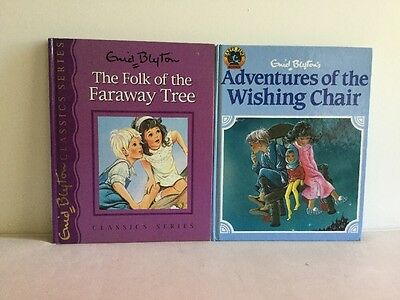 Enid Blyton Adventures Of The Wishing Chair And The Folk Of The Faraway Tree