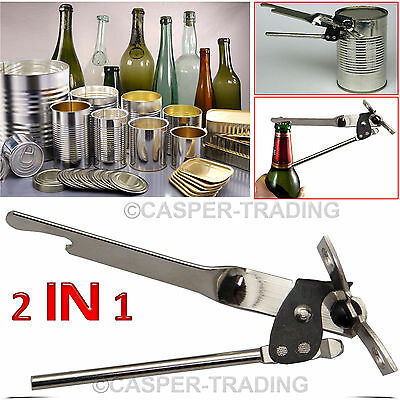 Stainless Steel Butterfly Kitchen Can Tin Bottle Metal Steel Food Opener Camping