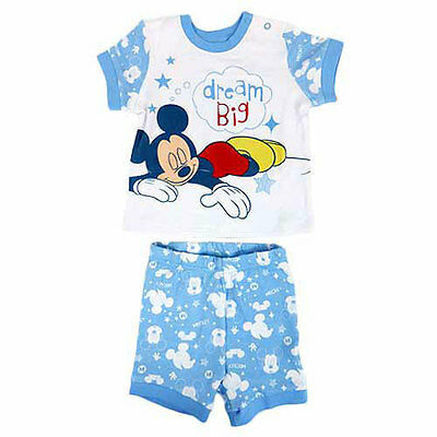 Mickey Mouse Short Pyjama Set