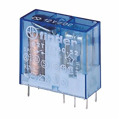 12VAC relay finder blue 8 pin